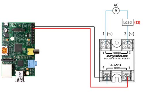 topic raspberry pi using crydom d24xx solid state relay raspberry pi crydom d24xx wiring