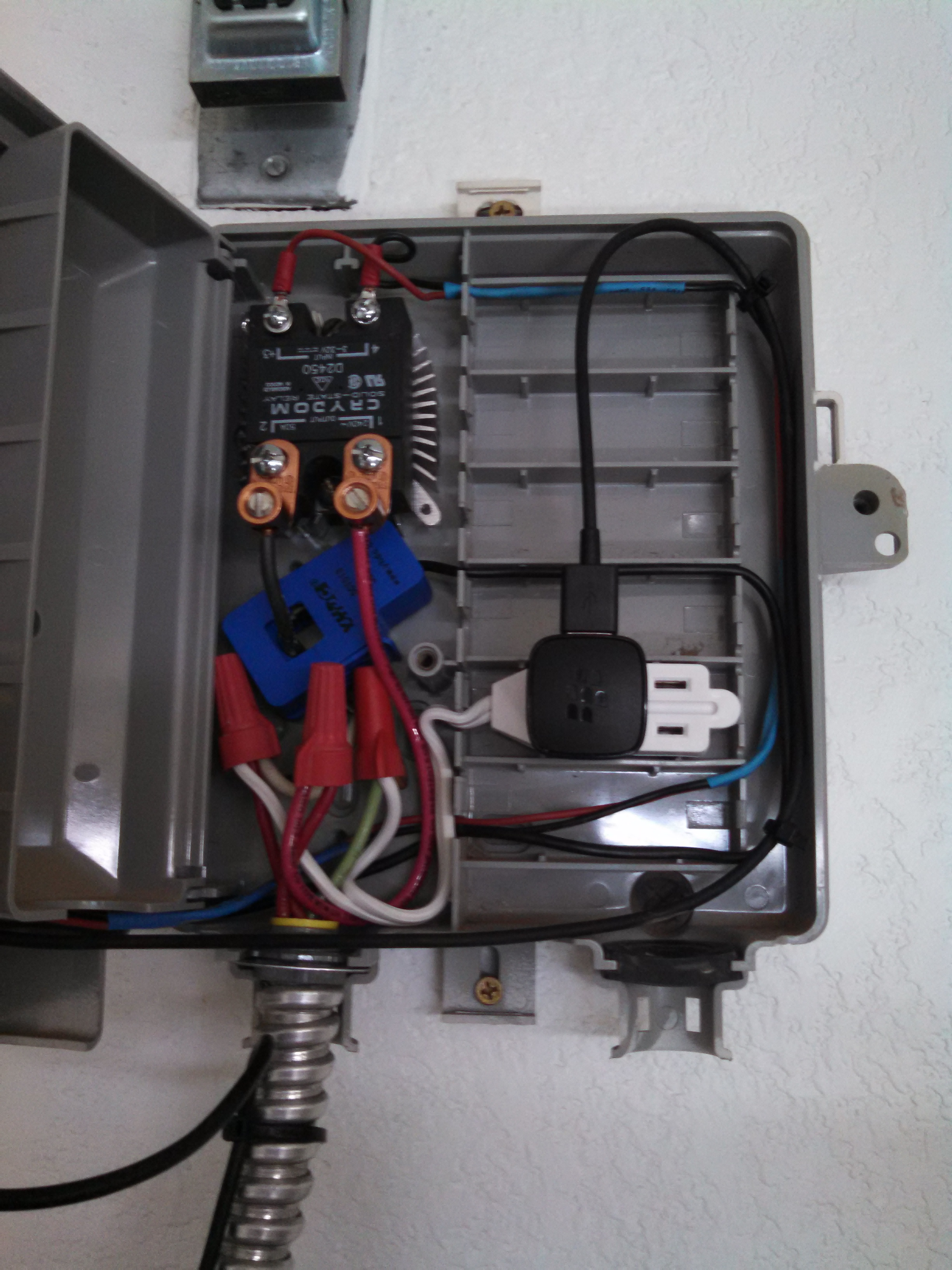 Tinker Labz - Water Heater Control Box View 2